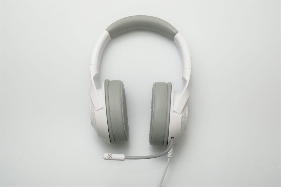 RAZER Kraken X ,Mercury White,白,写真
