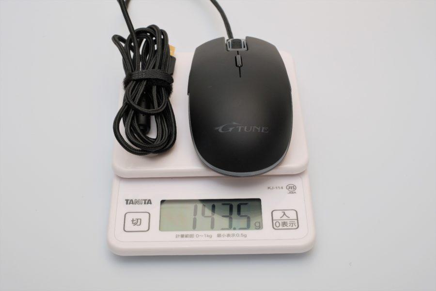 G-Tune,マウス,GT20,重さ,重量